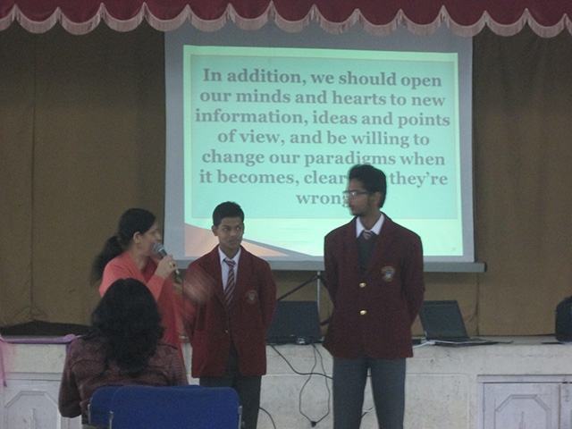 Motivational workshop for students